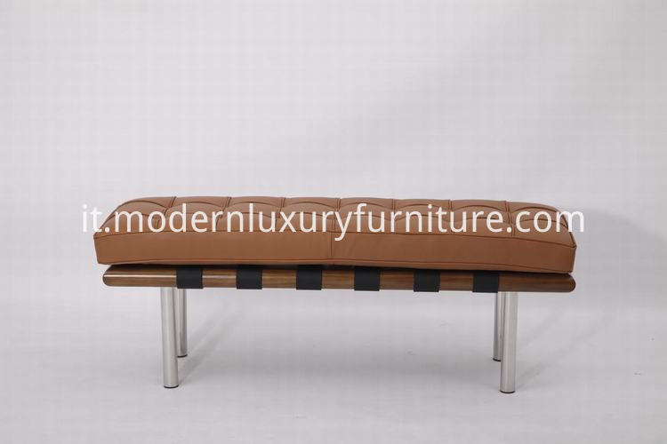 02 Barcelona Bench Light Walnut 4